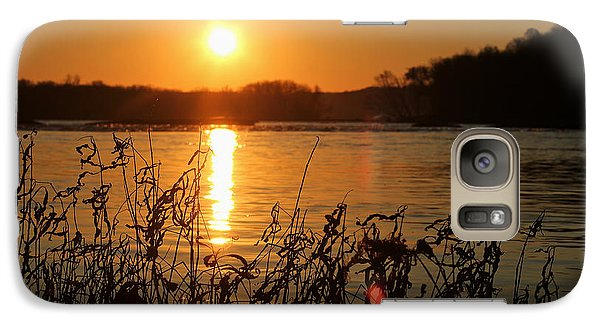 Galaxy Case featuring the photograph Morning Calm  by Everett Houser