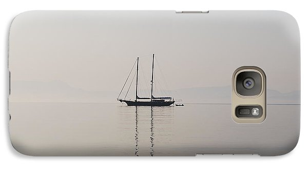 Galaxy Case featuring the photograph Morning Mist by George Katechis