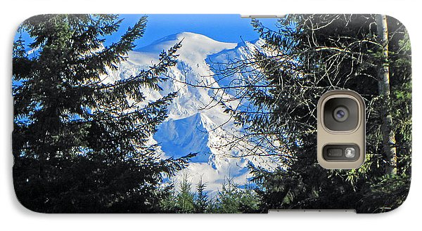 Galaxy Case featuring the photograph Mt. Rainier I by Tikvah's Hope