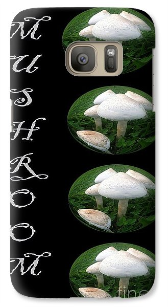 Galaxy Case featuring the photograph Mushroom Art Collection 1 By Saribelle Rodriguez by Saribelle Rodriguez