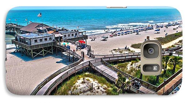 Galaxy Case featuring the photograph Myrtle Beach South Carolina by Alex Grichenko