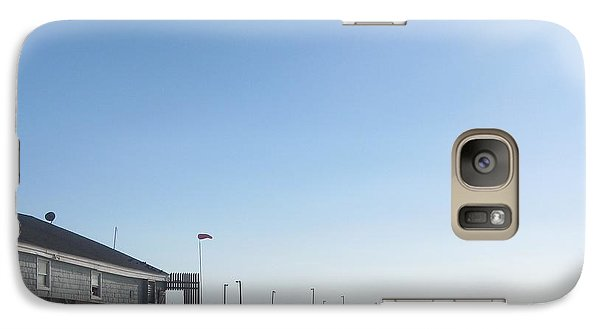 Galaxy Case featuring the photograph Nags Head Pier by Cathy Lindsey