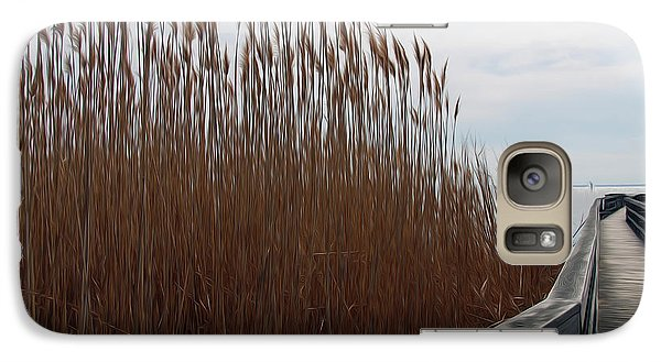 Galaxy Case featuring the digital art Nature Walk by Kelvin Booker