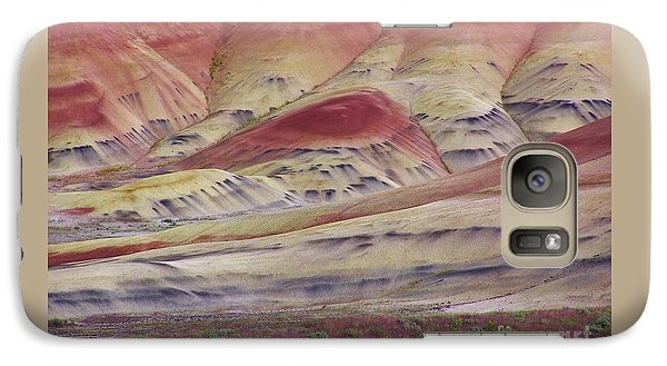Galaxy Case featuring the photograph John Day Fossil Beds Painted Hills by Michele Penner