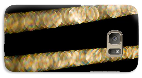 Galaxy Case featuring the photograph Necklace Abstract by Crystal Hoeveler