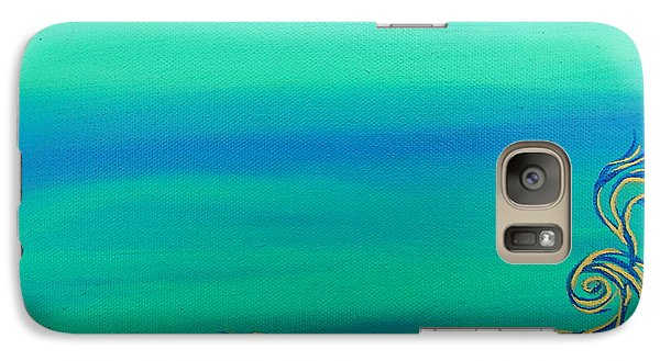Galaxy Case featuring the painting Nerissa by Robert Nickologianis
