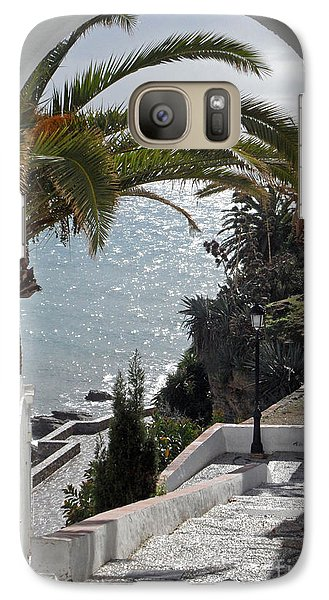 Galaxy Case featuring the photograph Nerja Archway by Rod Jones
