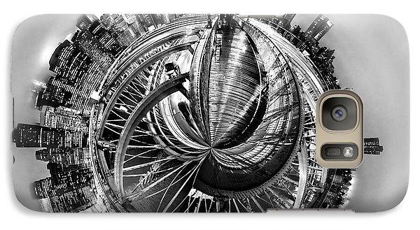 Brooklyn Bridge Galaxy S7 Case - Manhattan World by Az Jackson