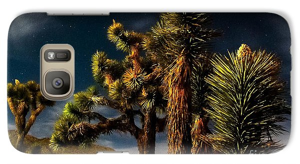 Galaxy Case featuring the photograph Night Desert by Angela J Wright