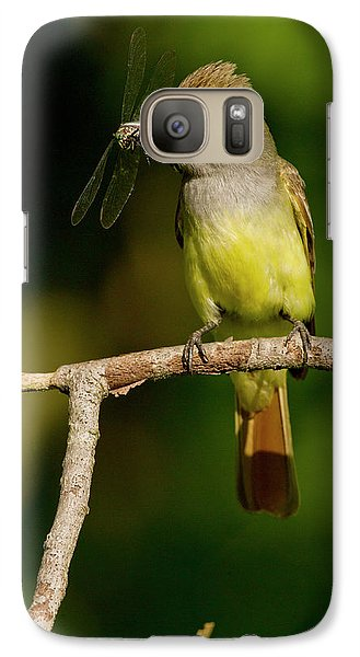 Flycatcher Galaxy S7 Case - North America, Usa, Central by Joe and Mary Ann Mcdonald