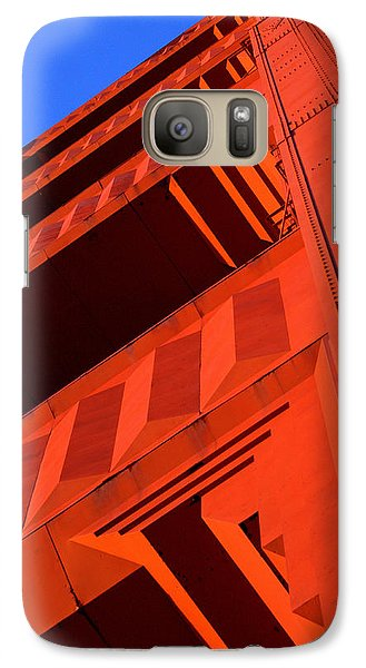North Tower Golden Gate Bridge Galaxy S7 Case