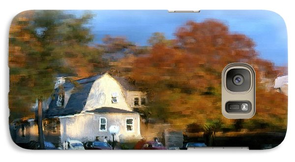 Galaxy Case featuring the painting Northeastern Bible College by Bruce Nutting