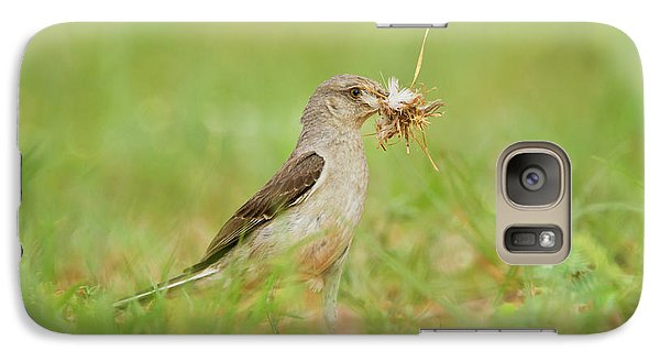 Mockingbird Galaxy S7 Case - Northern Mockingbird (mimus Polyglottos by Larry Ditto