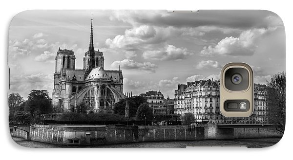 Galaxy Case featuring the photograph Notre Dame 813 by James Bethanis