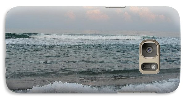 Galaxy Case featuring the photograph Ocean At Buxton Nc 2 by Cathy Lindsey
