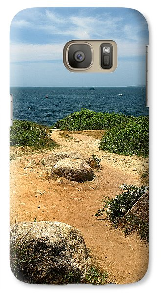Galaxy Case featuring the photograph Ocean View by Raymond Earley