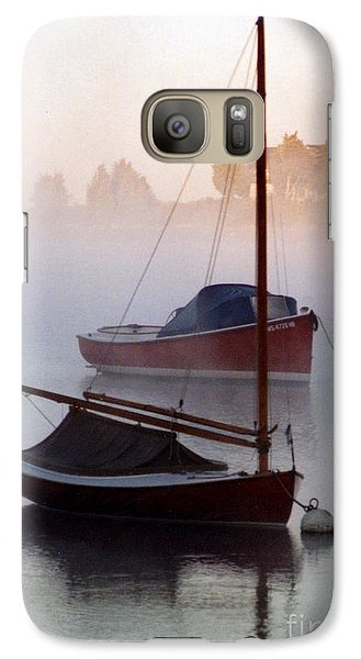 Galaxy Case featuring the photograph October Mist by Michael Helfen