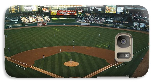 Galaxy Case featuring the photograph Old Busch Field by Kelly Awad