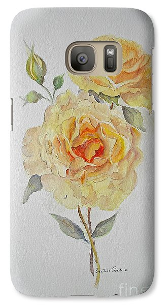 One Rose Or Two Galaxy S7 Case by Beatrice Cloake