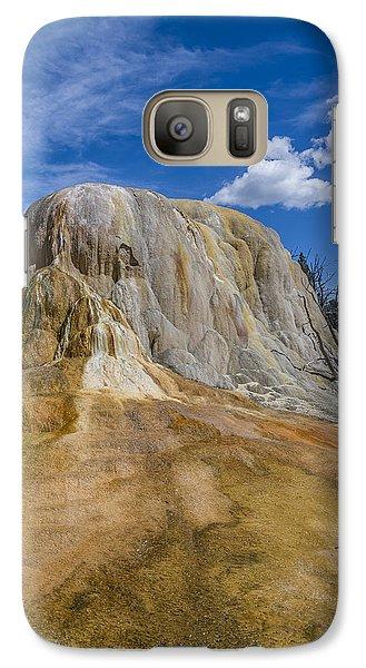 Orange Spring Mound Yellowstone National Park Galaxy S7 Case