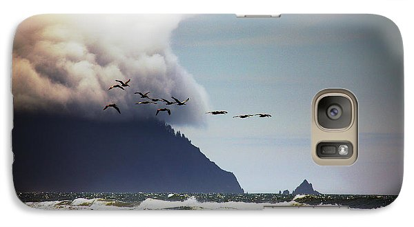 Galaxy Case featuring the photograph Oregon Coast  by Aaron Berg