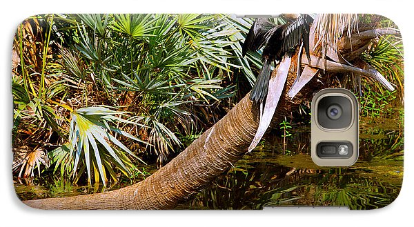 Anhinga Galaxy S7 Case - Oriental Darter Anhinga Melanogaster by Panoramic Images