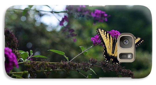 Galaxy Case featuring the photograph Out Of Bounds II by Judy Wolinsky