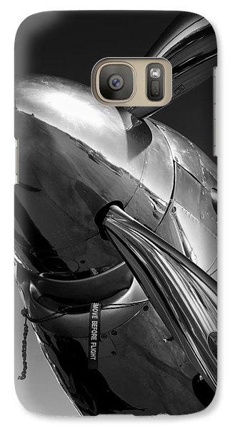 P-51 Mustang Galaxy S7 Case