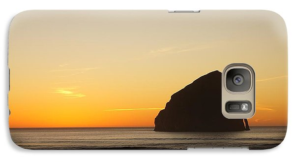 Galaxy Case featuring the photograph Pacific City Sunset by Angi Parks