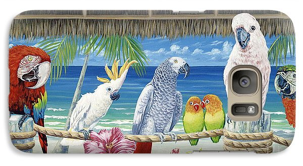 Parrots In Paradise Galaxy S7 Case