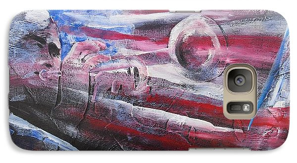 Galaxy Case featuring the painting Passionate Sound by John  Svenson