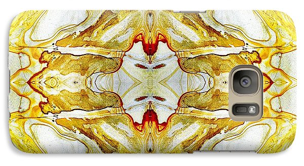 Patterns In Stone - 150 Galaxy Case by Paul W Faust -  Impressions of Light