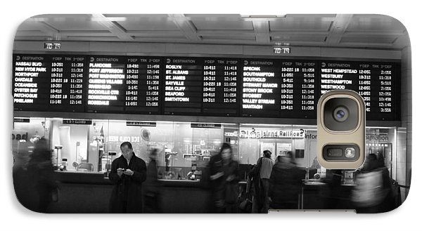 Galaxy Case featuring the photograph Penn Station by Steven Macanka