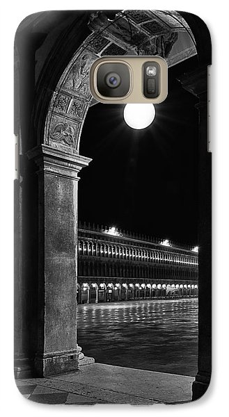 Galaxy Case featuring the photograph Piazza San Marco 2 by Marion Galt