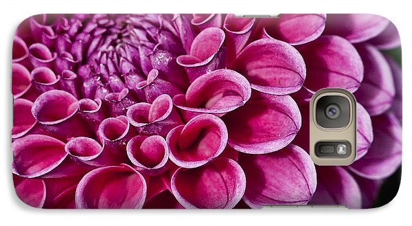Galaxy Case featuring the photograph Pink Dahlia by Shirley Mangini