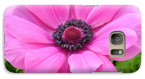 Galaxy Case featuring the photograph Pink Flower by Jeannie Rhode