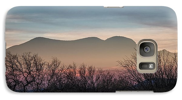 Galaxy Case featuring the photograph Pink In The Valley by Beverly Parks