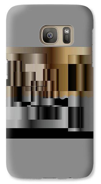 Galaxy Case featuring the digital art Pipes by Iris Gelbart