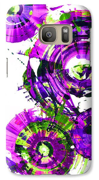 Galaxy Case featuring the digital art Playing In The Wind 1000.042312 - Popart-3 by Kris Haas
