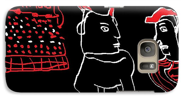 Galaxy Case featuring the painting Plaza De Los Toros by Don Koester