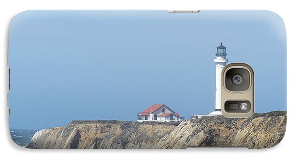 Galaxy Case featuring the photograph Point Arena Lighthouse by Bonnie Muir