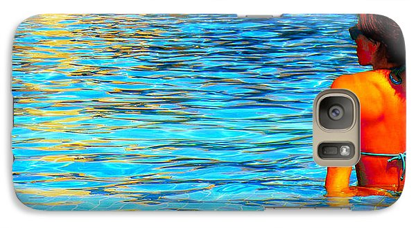 Galaxy Case featuring the photograph Pool by J Anthony