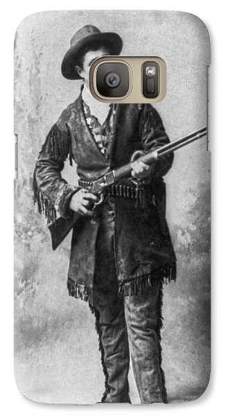 Portrait Of Calamity Jane Galaxy S7 Case by Underwood Archives