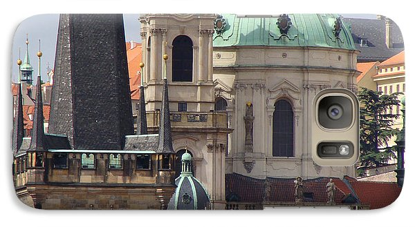 Galaxy Case featuring the photograph Prague by Ira Shander
