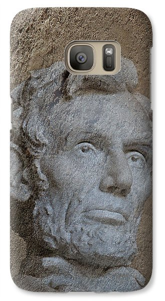 President Lincoln Galaxy S7 Case by Skip Willits