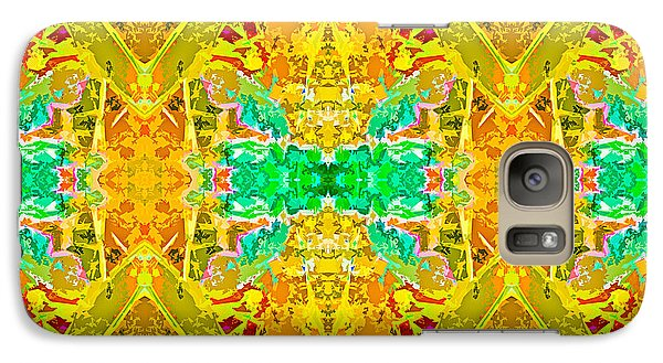 Galaxy Case featuring the photograph Psychedelic Diamond by  Onyonet  Photo Studios