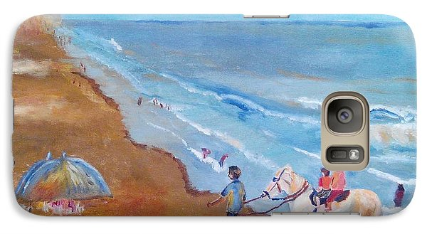 Galaxy Case featuring the painting Puri by Geeta Biswas