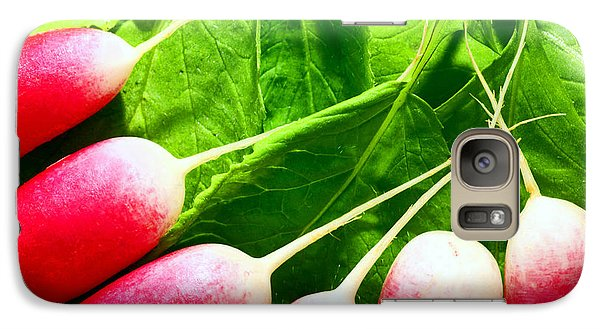Galaxy Case featuring the photograph Radishes by Craig B