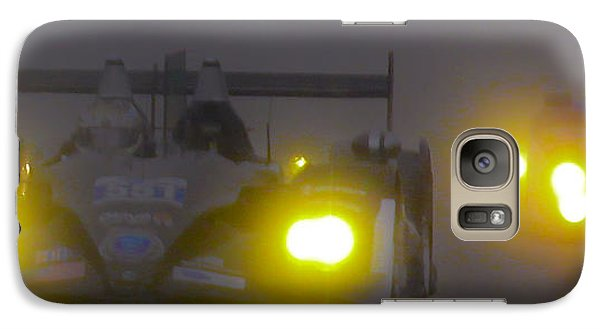 Galaxy Case featuring the photograph Rain Racers by Michael Nowotny