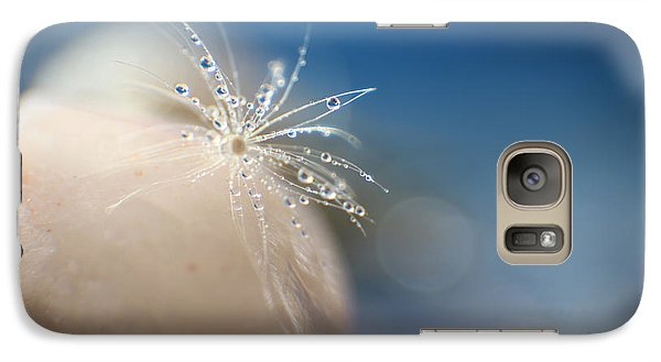 Galaxy Case featuring the photograph Raindrops by Eden Baed